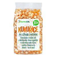 Kukuřice na výrobu popcornu Bio Country Life 200g