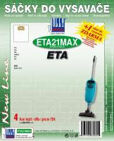 Sáčky do vysavače ETA Apart 1434 textilní, 4ks (JOLLY3060)