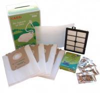 4 ks sáčky S-Bag, HEPA filtr H12, 1 filtr, 4 vůně - originál sada GSK k vysavači Electrolux, AEG, Philips