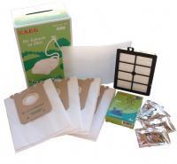 ELECTROLUX SBAG Green 4ks, HEPA filtr Hygiene H12 omyvatelný, filtr vůně, sada GSK2