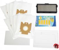 8 sáčků, HEPA filtr H12, 3 filtry, 5x vůně pro vysavače Miele S4, S5, S6, S8