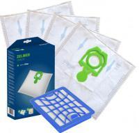 Sáčky do vysavače ZELMER Syrius 1600, ZVC412, ZVC415 4+1ks,HEPA filtr a filtry