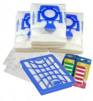 Sáčky do vysavače ZELMER ZELMER Flooris ZVC545AP 12+1ks,HEPA Filtr H13 + filtry + 10 vůní