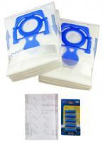 Sáčky do vysavače ZELMER Aquawelt, Aquos, Cobra, Clarris, Elf, Flip, Odyssey - MAX pack 8 ks, 2 filtry + 5 vůní Moře