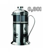 Konvice na kávu a čaj French Press BergHoff Cook and Co, 0,80 l