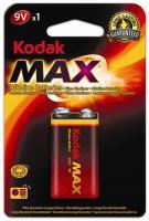 Baterie KODAK MAX 9V 1ks