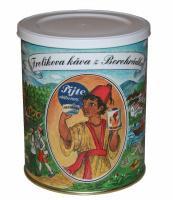 Frolíkova čerstvá mletá káva z Borohrádku 250g