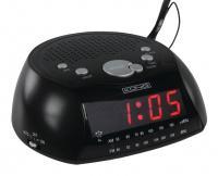 Radio AM/FM s budíkem černé König HAV-CR21