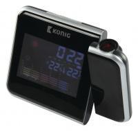 LCD hodiny s projekcí času a předpovědí počasí WS-103N