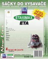 Sáčky do vysavače Eta 2441 Sirius textilní 4ks