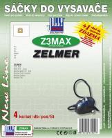 Sáčky do vysavače Zelmer Wodnik Multi 519 - 620 textilní 4ks