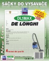 Sáčky do vysavače De Longhi Jazz textilní 4ks (DL1MAX)