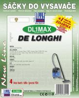 Sáčky do vysavače De Longhi XD 1036 MV textilní 4ks (DL1MAX)