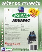 Sáčky do vysavače AQUA VAC Multisystem 3000 textilní, +filtr 4ks