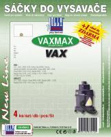 Sáčky do vysavače VAX Powa 4000, 4001, 4100 textilní (VAXMAX) 4ks
