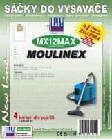 Sáčky do vysavače Moulinex Y05 textilní 4ks