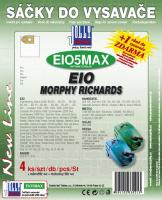 Sáčky do vysavače EIO Compact 1300, textilní 4ks