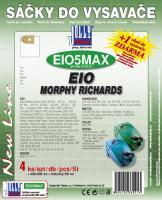 Sáčky do vysavače EIO Chrom systém, textilní 4ks