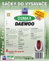 Sáčky do vysavače Samsung SC 5800...5899 textilní 4ks