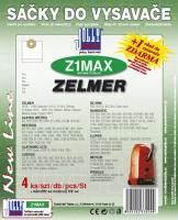Sáčky do vysavače Zelmer Meteor Allergo textilní 4ks