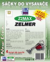 Sáčky do vysavače Zelmer FVC 1600 textilní 4ks