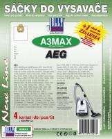 Sáčky do vysavače AEG E 1700, AEG - E 1700 Plus textilní 4ks