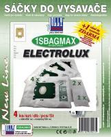 Sáčky do vysavače ELECTROLUX UltraSilencer EL 7060 - 7066, + 2 filtry 4ks