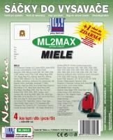 Sáčky do vysavače Miele Electronic 2000, 2500, 2900 textilní, 4ks 4ks