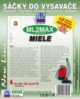 Sáčky do vysavače Miele S 6390 Silent and Compact, textilní 4ks