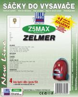 Sáčky do vysavače Zelmer Cobra II Silent 2500 textilní 4ks
