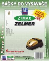 Sáčky do vysavače Zelmer Solaris 5000 Serie textilní 5ks