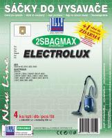Sáčky do vysavače Electrolux Org. Gr. E 210B textilní (2SBAGMAX) 4ks