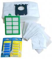 Sáčky do vysavače PHILIPS Autoclean FC 9220 FC 9240 12 ks , filtr HEPA, filtry a vůně