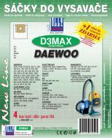 Sáčky do vysavače Daewoo RC 220 YL textilní 4ks