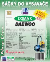 Sáčky do vysavače Daewoo Org. Gr. SB 80 textilní 4ks