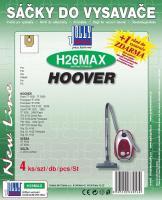Sáčky do vysavače Hoover Flash TF 1600 - TF 2999 textilní 4ks