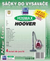 Sáčky do vysavače Hoover Flash TF 2005 textilní 4ks