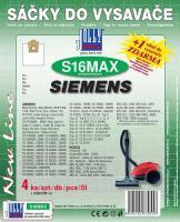Sáčky do vysavače DE SINA - VC 202 textilní 4ks
