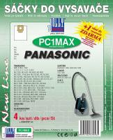 Sáčky do vysavače Panasonic MC E 750 - 753 textilní 4ks