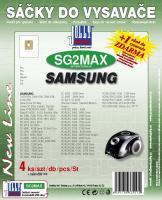 Sáčky do vysavače Samsung VCC 4140 textilní 4ks