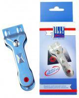 Škrabka na sklokeramické desky - kovová, 1ks
