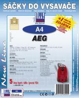Sáčky do vysavače AEG Org. Gr. 5 5ks