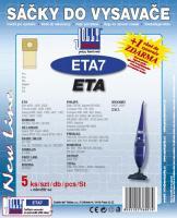 Sáčky do vysavače Eta 426 - 429 Série 5ks
