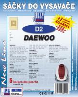 Sáčky do vysavače Daewoo RC 202, 205, 208, 209, 210 5ks