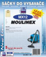 Sáčky do vysavače Moulinex Compact serie 5ks