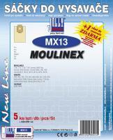Sáčky do vysavače Moulinex Vectral W 54, W 55, W 56 5ks