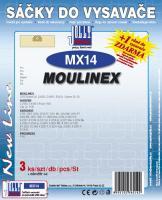 Sáčky do vysavače De Longhi XW 1400 3ks