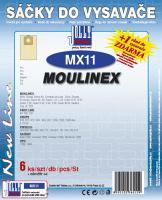 Sáčky do vysavače Moulinex Green 84 6ks