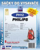 Sáčky do vysavače Philips Vitall HR 6371 - 6396 6ks