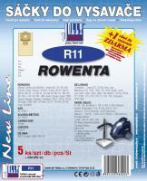 Sáčky do vysavače Rowenta RB 15-25, RB 33 5ks
